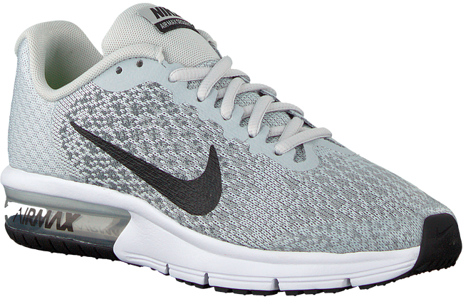 Grijze NIKE Sneakers NIKE AIR MAX SEQUENT 2 (GS) - large