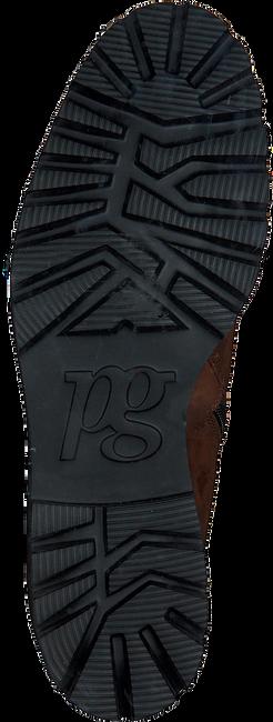 Bruine PAUL GREEN Enkellaarsjes 9763  - large