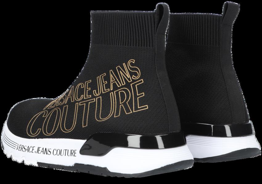 Zwarte VERSACE JEANS Hoge sneaker DYNAMIC DIS 23  - larger