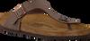 Bruine BIRKENSTOCK PAPILLIO Slippers GIZEH  - small