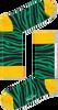 Groene HAPPY SOCKS Sokken ZEBRA - small