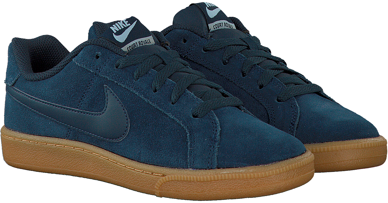 Blauwe NIKE Sneakers COURT ROYALE SUEDE WMNS | Omoda
