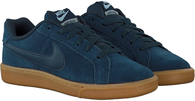 Blauwe NIKE Sneakers COURT ROYALE SUEDE WMNS