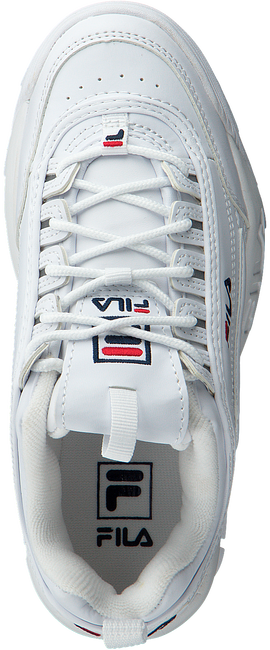 Witte FILA Sneakers DISRUPTOR S LOW WMN  - large