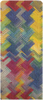 Meerkleurige ROMANO SHAWLS AMSTERDAM Sjaal SHAWL ZIGZAG  - small