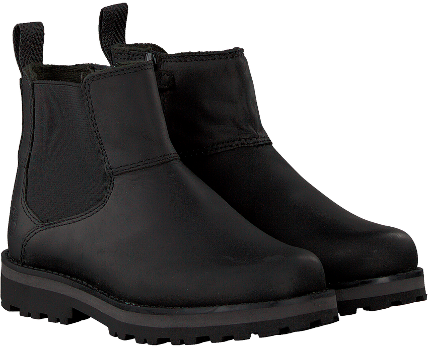 Zwarte TIMBERLAND Chelsea boots COURMA KID  - larger