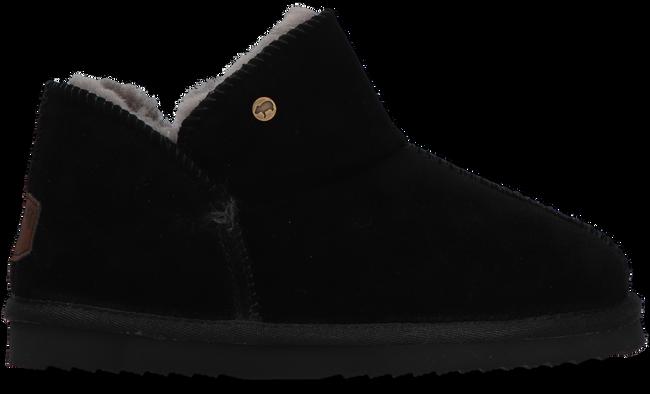 Zwarte WARMBAT Pantoffels WILLOW - large