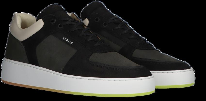 Zwarte NUBIKK Lage sneakers JIRO LIMO - larger