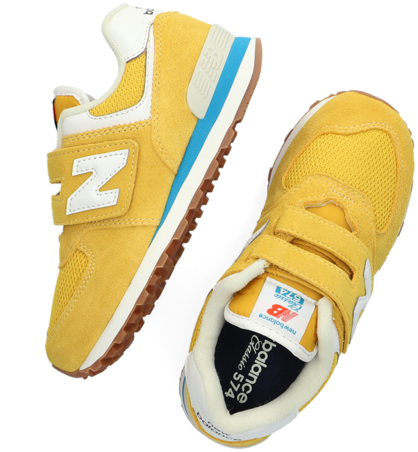 Gele NEW BALANCE Lage sneakers PV574  - large