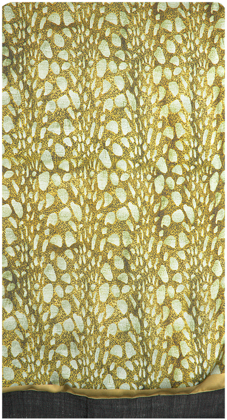 Groene NOTRE-V Sjaal DEBRA  - larger