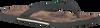 Grijze UGG Slippers BENNISON II HAWAIIAN CORK  - small