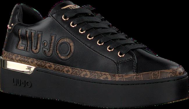 Zwarte LIU JO Lage sneakers SILVIA 22  - large