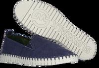 Blauwe SLOWWALK Instappers BONES MEN  - medium