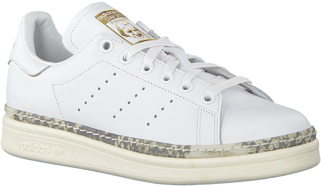 Witte ADIDAS Sneakers STAN SMITH NEW BOLD LwcZj63j