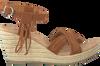 Bruine MINNETONKA Sandalen 71328  - small