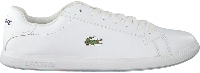 Witte LACOSTE Sneakers GRADUATE  - large