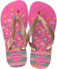 roze HAVAIANAS Slippers FLORES KIDS  - small