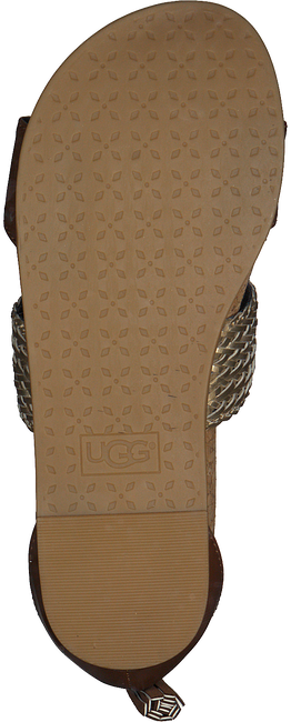 cognac UGG Sandalen MARABEL METALLIC  - large