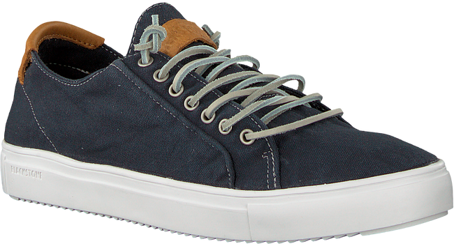 Blauwe BLACKSTONE Veterschoenen PM31 - large