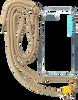 Beige KASCHA-C Telefoonkoord PHONECORD IPHONE 7+/8+  - small