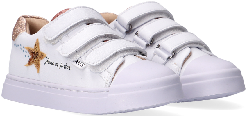 Witte SHOESME Lage sneakers SH21S017 - larger