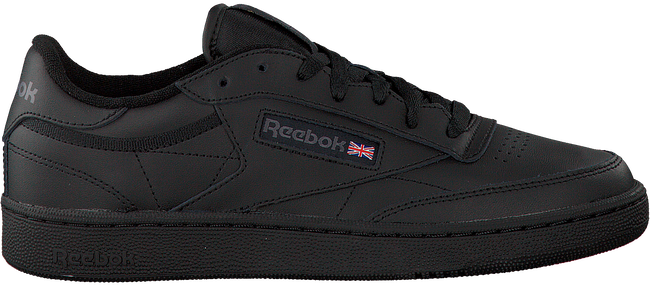 Zwarte REEBOK Sneakers CLUB C 85 MEN  - large