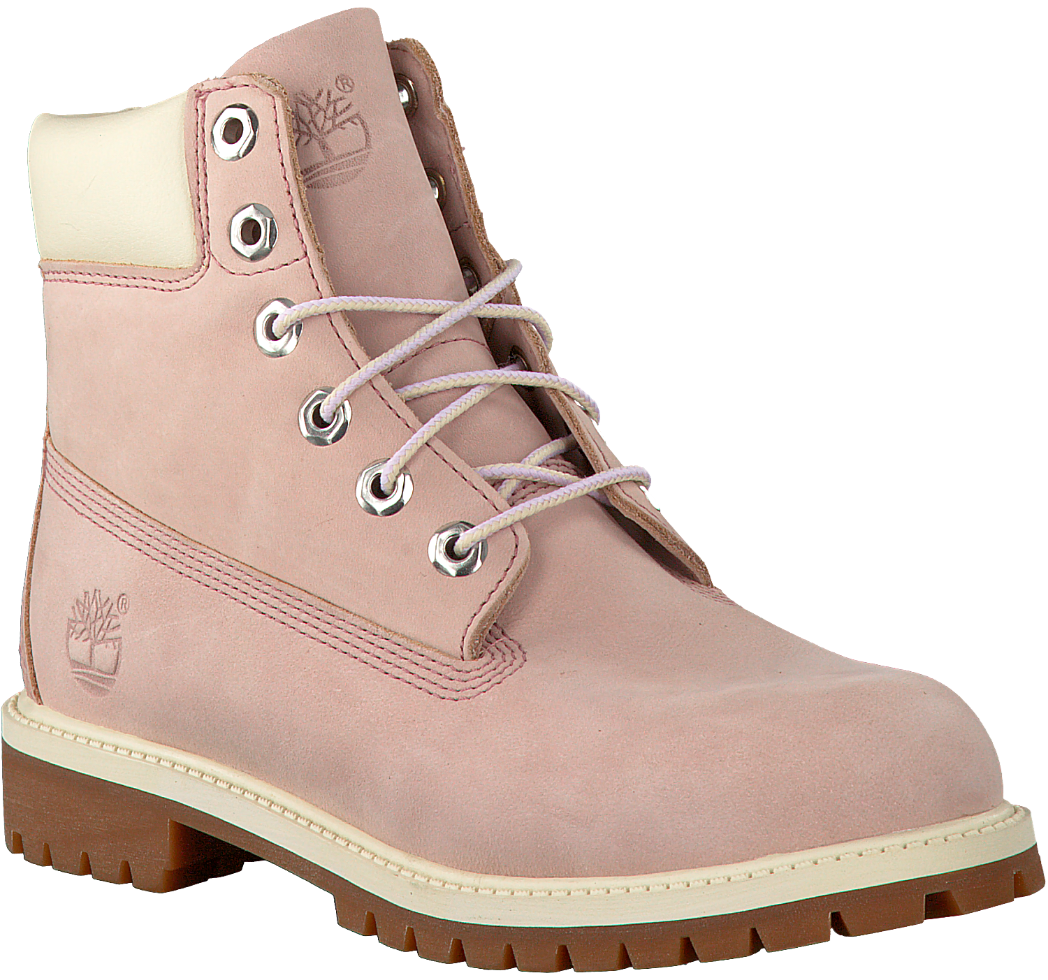 Kids Boot nl Omoda Prm Enkelboots 6in Wp Roze Timberland SYqwWH
