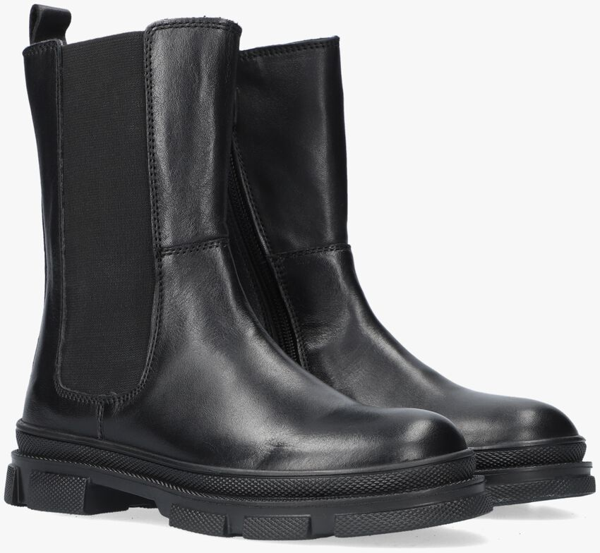 Zwarte TON & TON Enkelboots HOLLY  - larger
