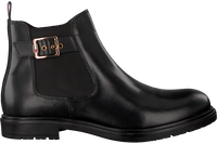 Zwarte TOMMY HILFIGER Chelsea boots 30460  - medium