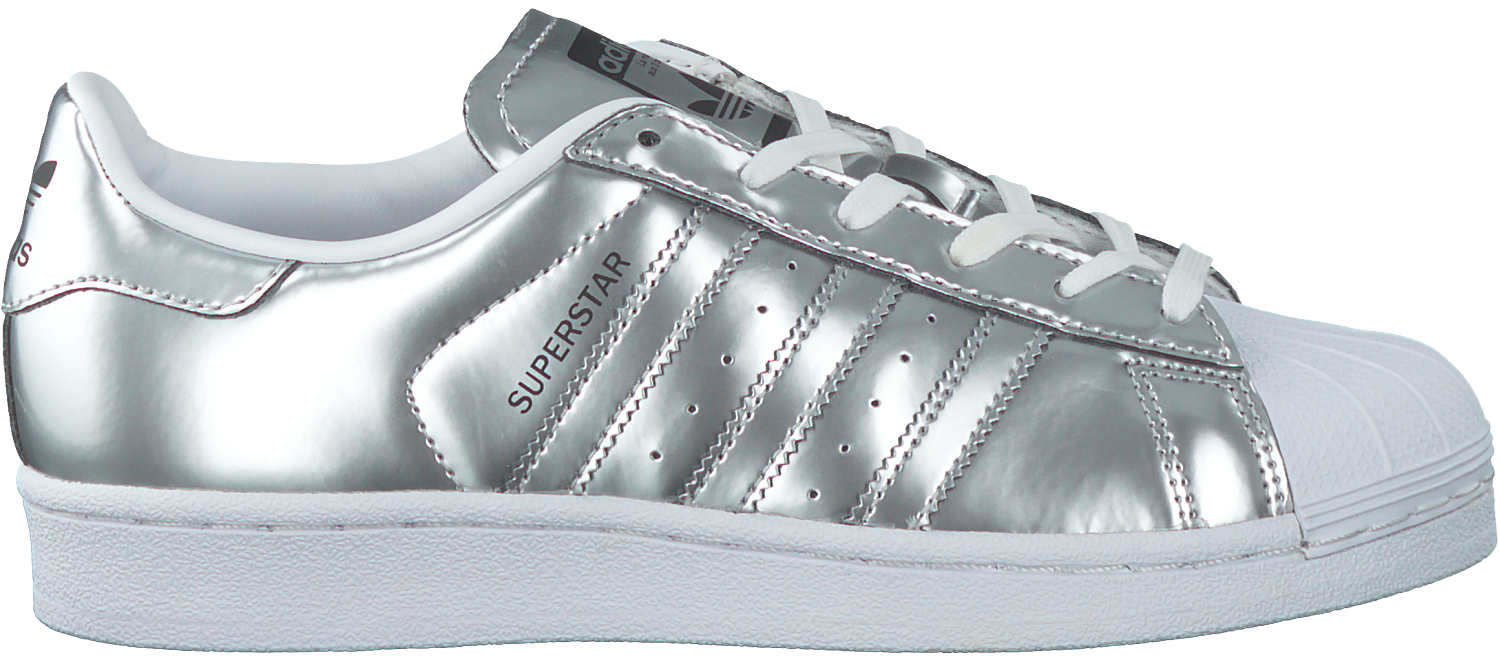 adidas superstar dames zilver