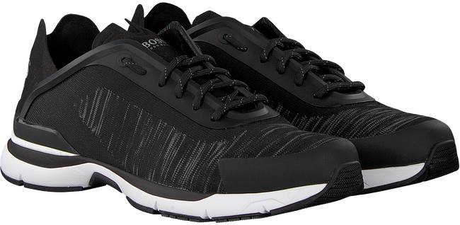 Grijze HUGO BOSS Sneakers VELOCITY RUNN KNIT - large
