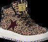 Bruine VINGINO Sneakers LOTTE MID  - small