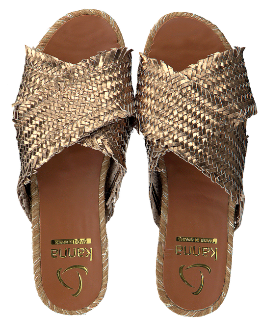 Bronzen KANNA Slippers 20191  - large