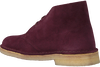 Rode CLARKS Veterboots DESERT BOOT DAMES - small