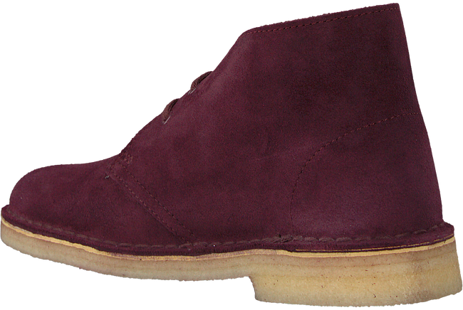 Rode CLARKS Veterboots DESERT BOOT DAMES - large
