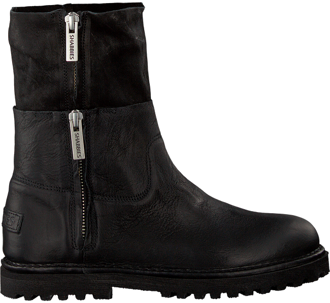 Zwarte SHABBIES Enkelboots 191020017 - large