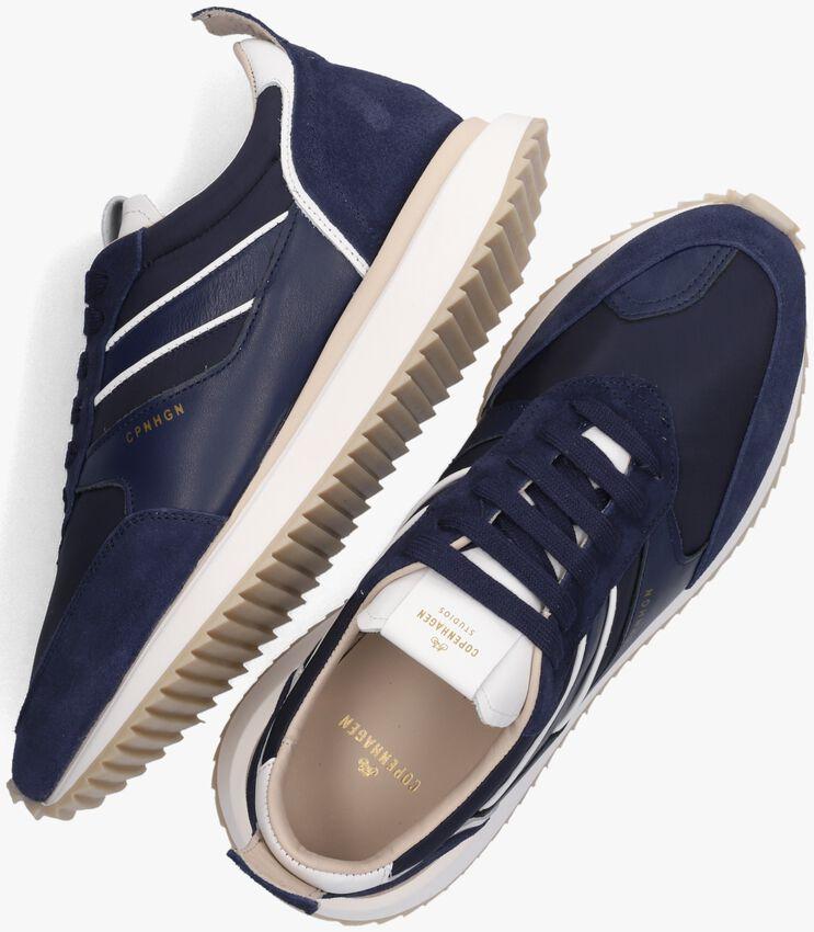 Blauwe COPENHAGEN STUDIOS Lage sneakers CPH460M  - larger