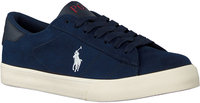 Blauwe POLO RALPH LAUREN Lage sneakers THERON  - large