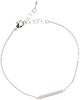 Zilveren ATLITW STUDIO Armband ELEMENTS BRACELET TRIANGLE BAR - small