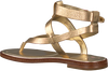 Gouden MICHAEL KORS Sandalen PEARSON THONG  - small