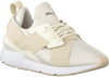 Beige PUMA Sneakers MUSE SATIN II - small