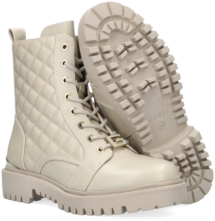 Witte GUESS Veterboots OMALA  - larger
