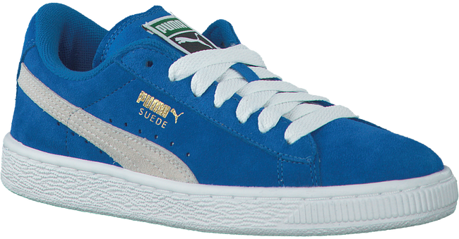 Blauwe PUMA Sneakers SUEDE JR - large