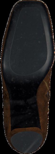 Cognac LOLA CRUZ Enkellaarsjes 392T30BK - large