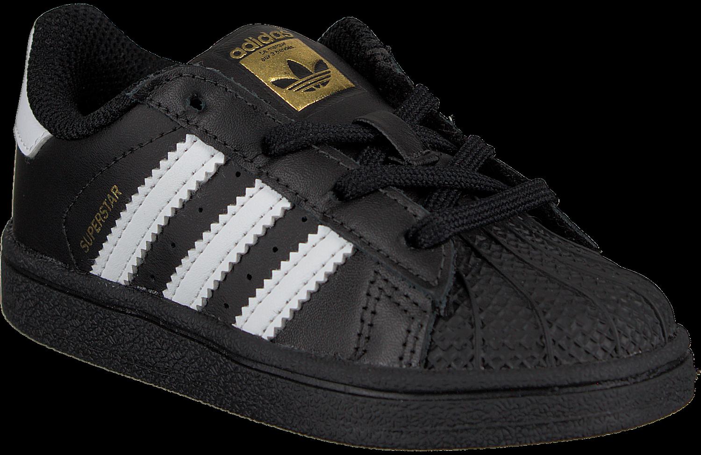 Zwarte ADIDAS Sneakers SUPERSTAR KIDS 1 | Omoda
