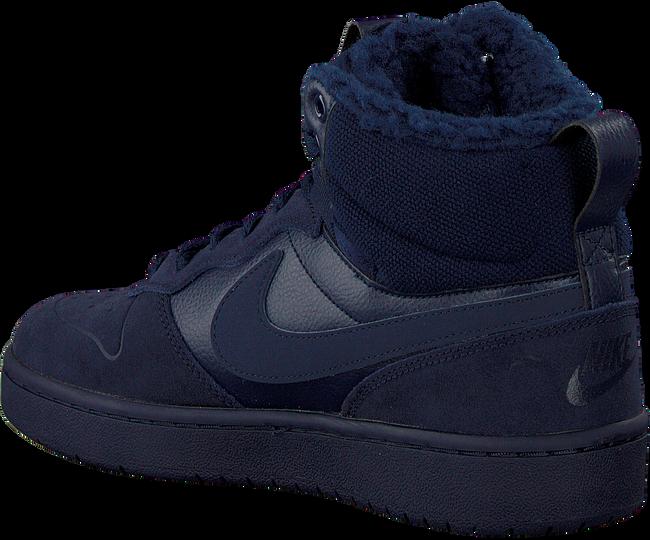 Blauwe NIKE Hoge sneaker COURT BOROUGH MID KIDS  - large