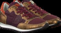 Paarse PHILIPPE MODEL Sneakers TROPEZ L JUNIOR  - medium