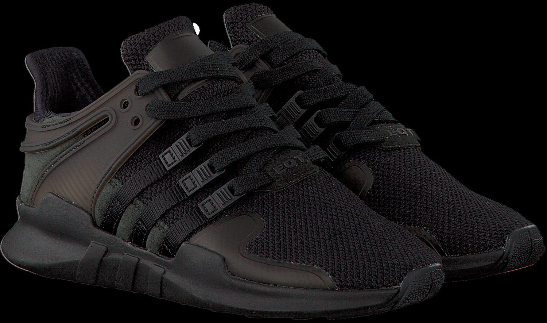 Zwarte ADIDAS Sneakers EQT SUPPORT ADV W   Omoda