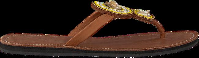 Cognac OMODA KUBUNI Slippers SLIPPER FLOWER - large