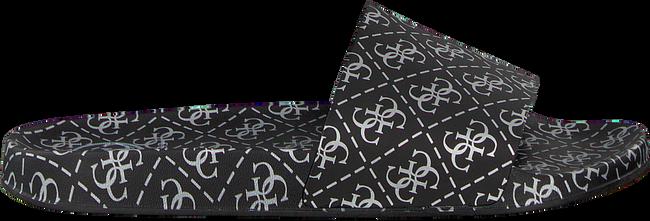 Zwarte GUESS Slippers I-SAVAN-EU  - large